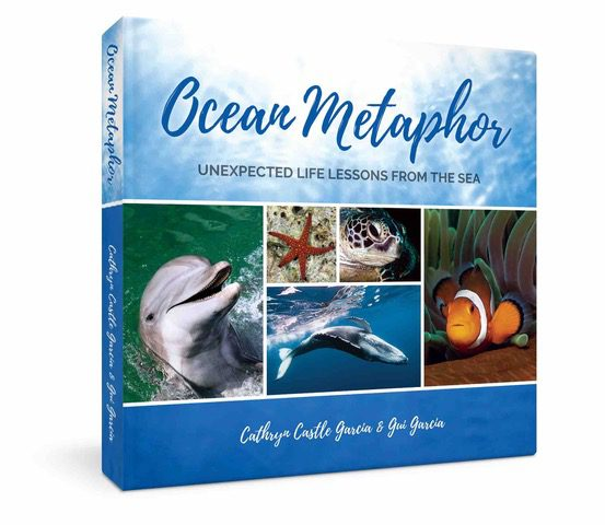 Authors Cathryn Castle Garcia and Gui Garcia's book about marine animal anthropomorphism